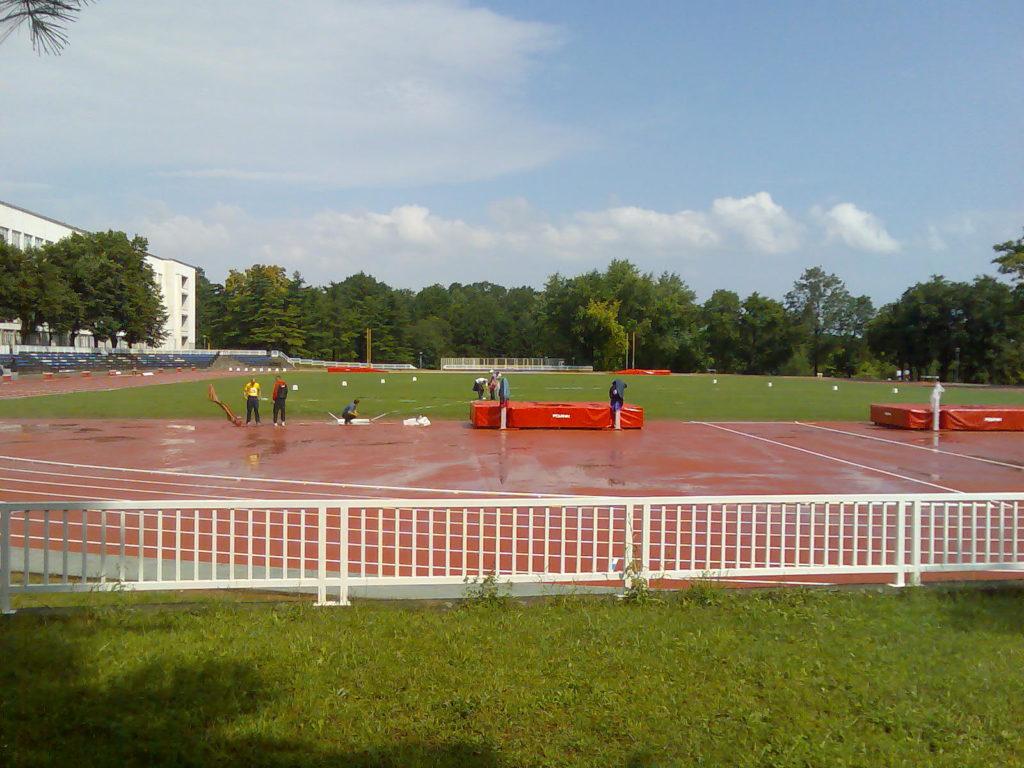 Projekat atletske staze na Vojnoj akademiji BeogradBeograd