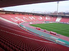 Projekat atletske staze stadion Crvene Zvezde Beograd