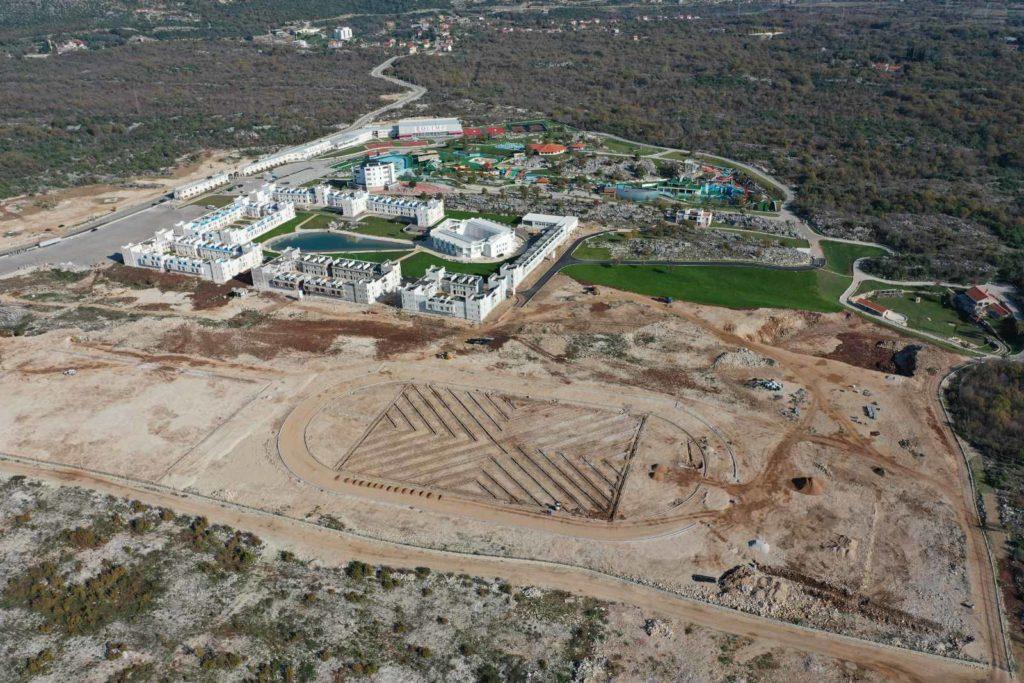 Atletski i fudbalski stadion Grad Sunca Trebinje 2019